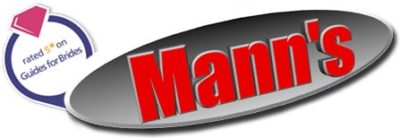 Manns Limousines logo for wedding car hire birmingham