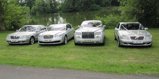 Rolls Royce cars for prestige wedding car hire West Midlands