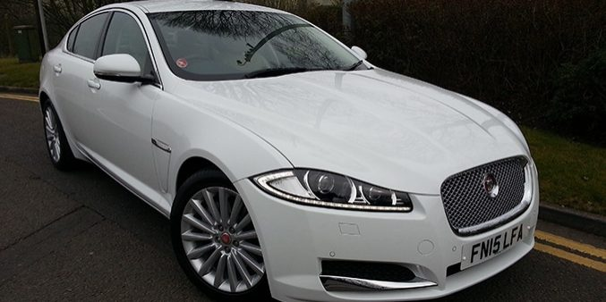 New Jaguar luxury car hire